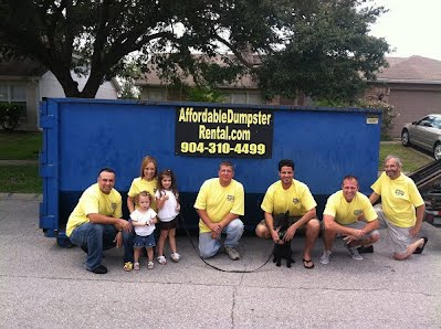 roll off dumpsters for rent jacksonville